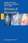 Dictionary of Rheumatology