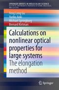 Calculations on Nonlinear Optical Properties for Large Systems : The Elongation Method