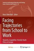 Facing Trajectories from School to Work : Towards a Capability-Friendly Youth Policy in Europe