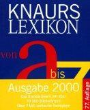Knaurs Lexikon Von A Bis Z (German Edition)