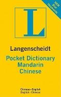 Langenscheidt Pocket Dictionary Mandarin Chinese (Langenscheidt Pocket Dictionaries)