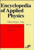 Encyclopedia of Applied Physics