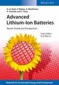 Advanced Lithium-Ion Batteries : Recent Trends and Perspectives