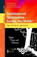 Combinatorial Optimization--Eureka, You Shrink Papers Dedicated to Jack Edmonds  5th Interna...