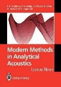 Modern Methods in Analytical Acoustics: Lecture Notes