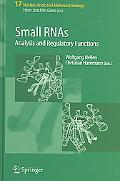 Small Rnas Analysis And Regulatory Functions