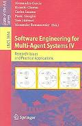 Software Engineering for Multi-agent Systems IV Research Issues And Practical Applications