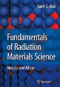 Radiative Materials Science