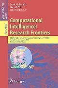 Computational Intelligence: Research Frontiers: IEEE World Congress on Computational Intelli...