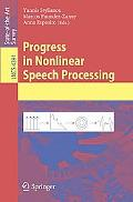 Progress in Nonlinear Speech Processing