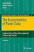 The Econometrics of Panel Data: Fundamentals and Recent Developments in Theory and Practice,...