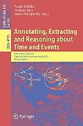 Annotating, Extracting and Reasoning about Time and Events
