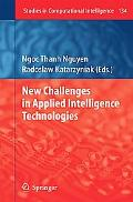New Challenges In Applied Intelligence Technologies