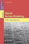 Digital Human Modeling: Trends in Human Algorithms
