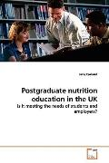 Postgraduate Nutrition Education In The Uk