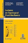 Lectures On Topological Fluid Mechanics, Vol. 197