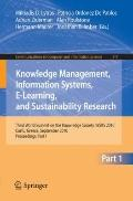 Knowledge Management, Information Systems, E-Learning, and Sustainability Research : Third W...
