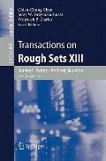 Transactions on Rough Sets XIII (Lecture Notes in Computer Science / Transactions on Rough S...