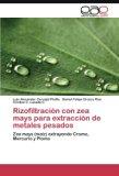 Rizofiltración con zea mays para extracción de metales pesados: Zea mays (maíz) extrayendo C...