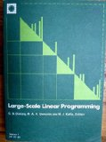 Large-Scale Linear Programming: Proceedings of a IIASA workshop, 2-6 June 1980