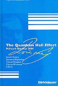 Quantum Hall Effect PoincarT Seminar 2004