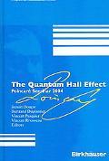 Quantum Hall Effect PoincarT Seminar 2004