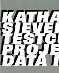Katharina Sieverding : Testcuts: Projected Data Images