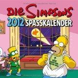 Simpsons Wandkalender 2012