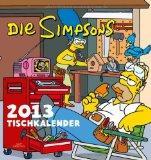 Simpsons Tischkalender 2013