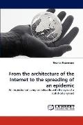 From the Architecture of the Internet to the Spreading of an Epidemic