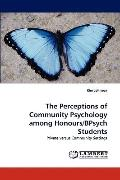 Perceptions of Community Psychology among Honours/Bpsych Students
