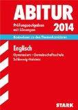 Abitur-Prfungsaufgaben Englisch 2014 Gymnasium Gesamtschule Schleswig-Holstein