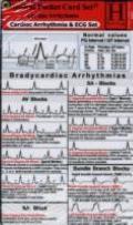 Cardiac Arrhythmia + ECG Set / Medical Pocket Card Set consisting of: 1. Cardiac Arrhythmia,...