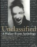 Unclassified A Walker Evans Anthology