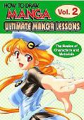 Ultimate Manga Lessons 2 The Basics of Characters And Materials