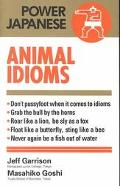 Japanese Animal Idioms - Jeff Garrison - Paperback