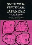 Situational Functional Japanese: Notes