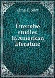 Intensive studies in American literature