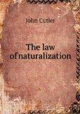 The law of naturalization