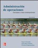 Administracion de Operaciones: Conceptos y Casos Contemporaneos ( 5 Ed.)