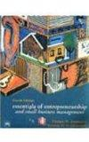 Essentials of Entrepreneurship and Small Business Management, 4th Economy Edition