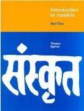 Introduction to Sanskrit, Part 2