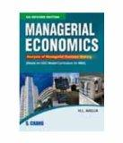 Managerial Economics: Analysis of Managerial Decision Making