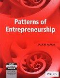 PATTERNS OF ENTREPRENEURSHIP