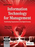Information Technology for Management: Transforming Organizations in the Digital Economy