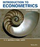 INTRODUCTION TO ECONOMETRICS 4TH EDITION