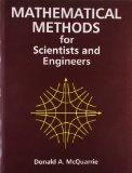 Mathematical Methods for Scientists & Engineers