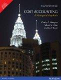 Cost Accounting: A Managerial Emphasis (14th Edition)