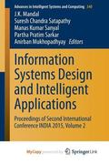 Information Systems Design and Intelligent Applications : Proceedings of Second Internationa...