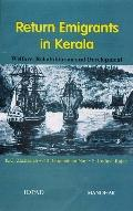 Return Emigrants in Kerala Welfare, Rehabilitation, and Development